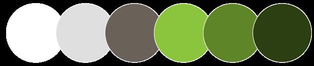 Return2Haiti main color palette
