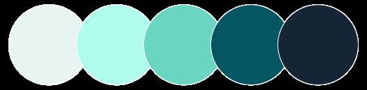 AIMS main color palette