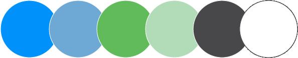 Wealth Advisory Group main color palette