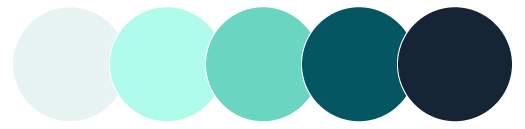 AIMS main color palette