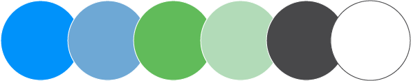 Wealth Advisory Group main color palette